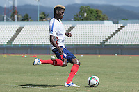 Port of Spain,Trinidad & Tobago - Sunday, November 15, 2015: The U.S. Men's National team train in preparation for their 2018 World Cup Qualifying match versus Trinidad & Tobago at Larry Gomes Stadium.