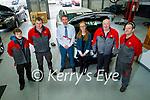 The staff of Randles Nissan Tralee.<br /> L to r: Richard Nickle, Kieran O'Carroll, Padraig McCarthy (Manager), Michelle Lyne, Jim Dillon and Steven Mahoney.