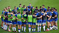 Italian team head coach Franco Smith talks to his players prior to the rugby Autumn Nations Cup's match between Italy and Scotland at Stadio Artemio Franchi on November 14, 2020 in Florence, Italy. Photo Andrea Staccioli / Insidefoto