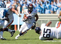 Virginia beat UNC 17-3 October 3, 2009 in Chapel Hill, NC.  Photo by Andrew B. Shurtleff.
