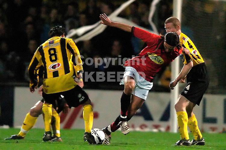 veendam - helmond sport 19-01-2007 jupiler leaque seizoen 2006-2007 vd broek humphrey met calabro