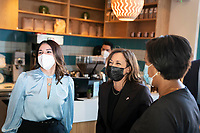 Vice President Kamala Harris Visits Local Small Business to Promote Build Back Better Agenda
