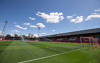 General view of the Stadium ahead of the match during the 2018/19 Pre Season Friendly match between Brentford and Watford at Griffin Park, London, England on 28 July 2018. Photo by Andy Rowland.