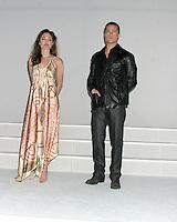 ANGELINA JOLIE.BRAD PITT.TWENTIETH CENTURY FOX LUNCHEON.SHOWEST.LAS VEGAS, NV.MARCH 17, 2005.©2005 KATHY HUTCHINS /HUTCHINS PHOTO...