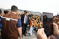 Christian Estrosi - 27Ëme Èdition du Rallye 'Aicha des Gazelles' au dÈpart de la ville de Nice, le samedi 18 mars 2017. # DEPART DU RALLYE 'AICHA DES GAZELLES' A NICE