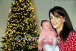 The first Kerry baby of 2021New Years Fiadh Moloney pictured with her mother Caitríona at their home in Lisanearla, Abbeydorney.