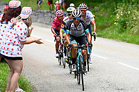 10th July 2021; Carcassonne, France; CHAVES RUBIO Jhoan Esteban (COL) of TEAM BIKEEXCHANGE during stage 14 of the 108th edition of the 2021 Tour de France cycling race, a stage of 183,7 kms between Carcassonne and Quillan