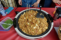 August 11 2012 - Montreal (Qc) Canada - Matsuri Japon Festival 11th edition.<br /> <br /> Matsuri Japon is a free event promoting Japanese culture to the general public. , IN PHOTO : fried noodles