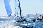 Rio de Janeiro Olympic Test Event - Fédération Française de Voile. Nacra17, Billy Besson, Marie Riou.