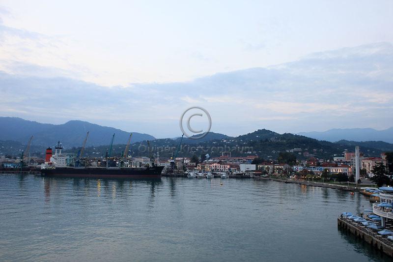 Black Sea, Batumi Georgia, September 2010. Photo by Quique Kierszenbaum