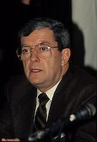 Montreal (QC) CANADA - File Photo taken between 1984 and 1999- - Jean Allaire, Leader Action Democratique du Quebec (ADQ)