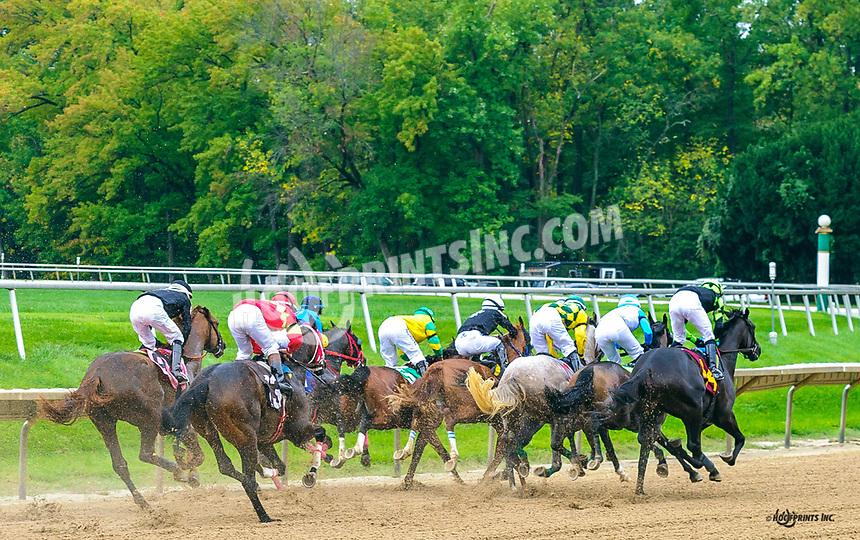 Barberini winning at Delaware Park on 10/6/21