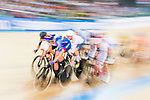 Christopher Latham of Great Britain competes on Men's Omnium Elimination during the 2017 UCI Track Cycling World Championships on 15 April 2017, in Hong Kong Velodrome, Hong Kong, China. Photo by Marcio Rodrigo Machado / Power Sport Images