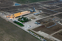 aerial photograph cattle feedlot Nebraska