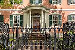 Gardner-Pingree house, Peabody Essex Museum, in Salem, Massachusetts, USA