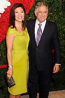 NEW YORK CITY, NY, USA - OCTOBER 16: Julie Chen, Leslie Moonves arrive at the God's Love We Deliver, Golden Heart Awards held at Spring Studios on October 16, 2014 in New York City, New York, United States. (Photo by Celebrity Monitor)