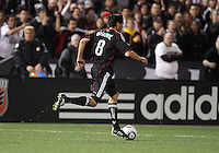 Branko Boskovic (8) of D.C. United  during an MLS match against the Los Angeles Galaxy at RFK Stadium, on April 9 2011, in Washington D.C. The game ended in a 1-1 tie.