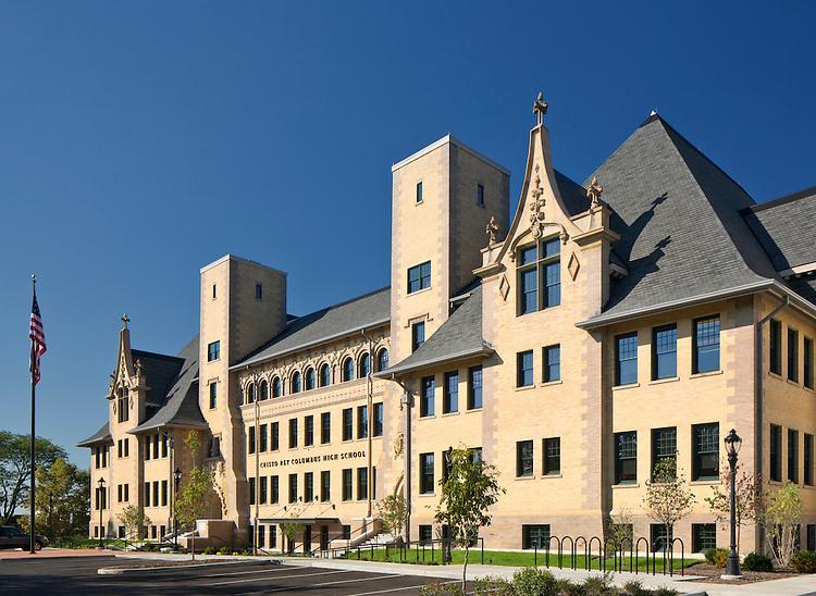 Cristo Rey High School | Schooley Caldwell Associates & Corna-Kokosing