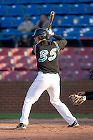 Jose Iglesias #35 of the Coastal Carolina Chanticleers at bat versus the Wake Forest Demon Deacons at Wake Forest Baseball Park April 8, 2009 in Winston-Salem, North Carolina. (Photo by Brian Westerholt / Four Seam Images)