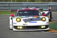 #91 PORSCHE AG TEAM MANTHEY (DEU) PORSCHE 911 RSR  TIMO BERNHARD (DEU) JORG BERGMEISTER (DEU) PATRICK PILET (FRA)