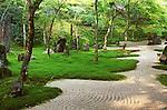 Asia, Japan, Fukuoka, Dazaifu, Komyoji Temple Garden