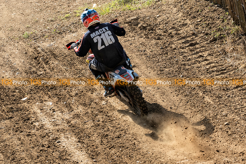 Oliver Macey in action, NGR Championship during the Richard Fitch Memorial Trophy Motocross at Wakes Colne MX Circuit on 18th July 2021