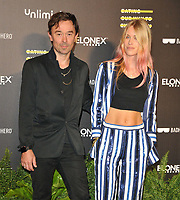 """Robbie (Robertson) Furze and Lady Mary Charteris at the """"Eating Our Way To Extinction"""" world film premiere, Odeon Luxe Leicester Square, Leicester Square, on Wednesday 08th September 2021, in London, England, UK.<br /> CAP/CAN<br /> ©CAN/Capital Pictures"""