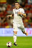 Albania's Taulant Xhaka during FIFA World Cup 2018 Qualifying Round match. October 6,2017.(ALTERPHOTOS/Acero) /NortePhoto.com /NortePhoto.com