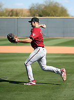 Spencer Brickhouse - Arizona Diamondbacks 2020 spring training (Bill Mitchell)