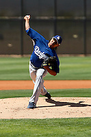 Manuel Pinango - Los Angeles Dodgers - 2009 spring training.Photo by:  Bill Mitchell/Four Seam Images