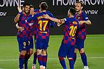 8th July 2020; Camp Nou, Barcelona, Catalonia, Spain; La Liga Football, Barcelona versus Espanyol; Picture show Luis Suarez celebration after score