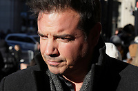 Charles Lafortune attend the funeral of Rene Angelil, , Friday Jan. 22, 2016 at Notre-Dame Basilica in Montreal, Canada.<br /> <br /> <br /> <br /> <br /> <br /> <br /> <br /> <br /> <br /> <br /> <br /> <br /> <br /> .