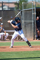 San Diego Padres designated hitter Owen Miller (10) at bat during an Instructional League game against the Milwaukee Brewers at Peoria Sports Complex on September 21, 2018 in Peoria, Arizona. (Zachary Lucy/Four Seam Images)