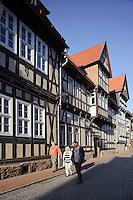 Deutschland, Sachsen-Anhalt, Stolberg im Harz, Fachwerkhäuser aus der Renaissance-Zeit