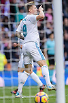 Toni Kroos of Real Madrid reacts during La Liga 2017-18 match between Real Madrid and Sevilla FC at Santiago Bernabeu Stadium on 09 December 2017 in Madrid, Spain. Photo by Diego Souto / Power Sport Images