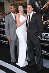 Marlon Wayans,Rachel Nichols & Channing Tatum at The Paramount Pictures' G.I. JOE: THE RISE OF COBRA Los Angeles Special Screening held at The Grauman's Chinese Theatre in Hollywood, California on August 06,2009                                                                   Copyright 2009 DVS / RockinExposures