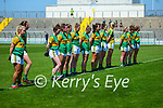 The Kerry team in the Lidl Ladies National Football League Division 2A Round 2 at Austin Stack Park, Tralee on Sunday.
