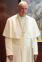 NEW YORK, NY - SEPTEMBER 25: Pope Francis addresses The United Nations General Assembly on September 25, 2015 in New York City<br /> <br /> <br /> People:  Pope Francis