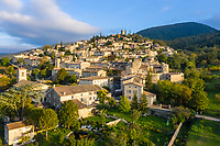 France, Drome, Mirmande, labelled Les Plus Beaux Villages de France (The Most beautiful Villages of France), general view // France, Drôme (26), Mirmande, labellisé Les Plus Beaux Villages de France, le village, vue générale