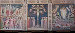 Sacristy Frescoes Ascent to Calvary Aretino Crucifixion Gaddi Resurrection Gerini 1330 Santa Croce Florence