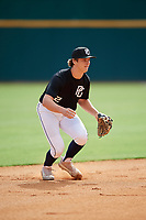 Jackson Jobe (2) of Heritage Hall High School in Oklahoma City, OK during the Perfect Game National Showcase at Hoover Metropolitan Stadium on June 17, 2020 in Hoover, Alabama. (Mike Janes/Four Seam Images)