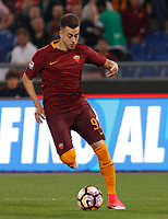 Calcio, Serie A: Roma vs Juventus. Roma, stadio Olimpico, 14 maggio 2017. <br /> Roma's Stephan El Shaarawy in action during the Italian Serie A football match between Roma and Juventus at Rome's Olympic stadium, 14 May 2017. Roma won 3-1.<br /> UPDATE IMAGES PRESS/Riccardo De Luca