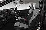 Front seat view of a 2018 Subaru Crosstrek 4wd 5 Door SUV front seat car photos