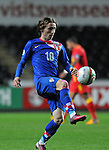 FIFA 2014 World Cup Qualifier - Wales v Croatia - Swansea - 26th March 2013 : Luka Modric of Croatia controls the ball.