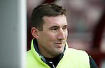 Hibs v St Johnstone...30.01.16   Utilita Scottish League Cup Semi-Final, Tynecastle..<br /> Hibs manager Alan Stubbs<br /> Picture by Graeme Hart.<br /> Copyright Perthshire Picture Agency<br /> Tel: 01738 623350  Mobile: 07990 594431
