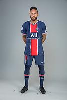 14th October 2020, Paris, France; Official League 1 player portrait for Paris Saint Germain;  NEYMAR JR
