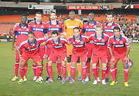 Chicago Fire team photo. D.C. United defeated The Chicago Fire 4-2 at RFK Stadium, Wednesday August 22, 2012.