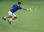 Novak Djokovic (SRB) beats Marin Cilic (CRO) 6-0, 6-1, 6-2