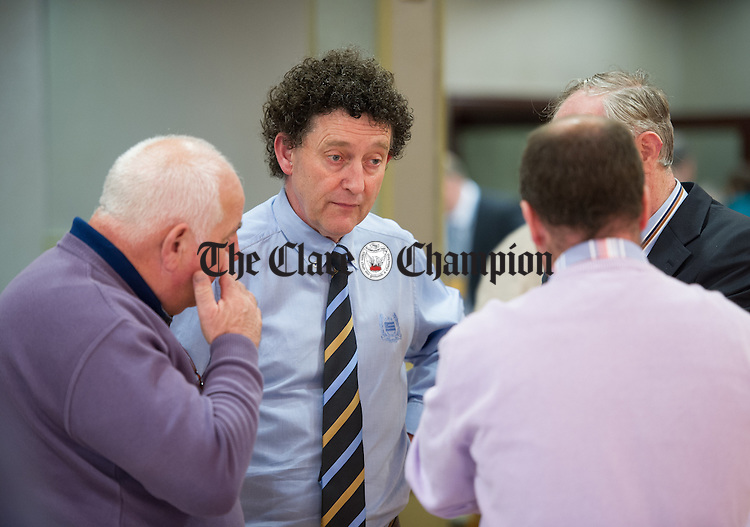 Johnny Flynn during the election count at The West county Hotel, Ennis. Photograph by John Kelly.