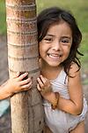 Portrait of a Nicaraguan girl, Isla Ometepe, Nicaragua